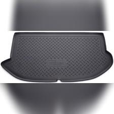 Коврик в багажник (черный) для Kia Soul (AM) (HB) (2008-2013)
