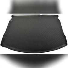 Коврик в багажник (черный) для Nissan Qashqai (2008-2014)