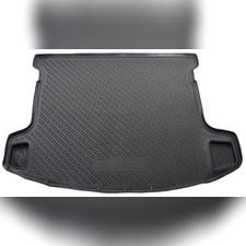 Коврик в багажник (черный) для Nissan Qashqai+2 (2008)