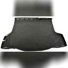Коврик в багажник (черный) для Renault Logan 2014-нв