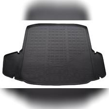 Коврик в багажник (черный) для Skoda Octavia III (A7) (HB) 2017-нв