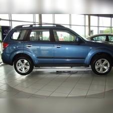 Молдинги дверей Subaru Forester 2011 - 2013