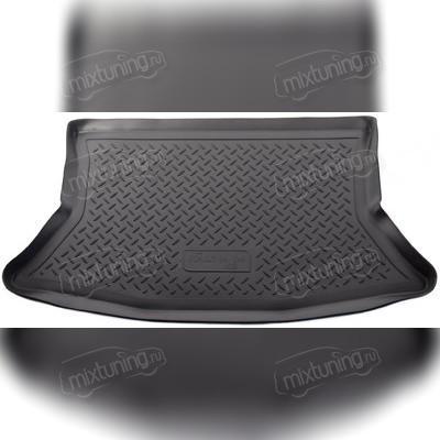 Коврик в багажник (черный) для Datsun mi-DO (2015)\ VAZ Lada Kalina HB (2004)