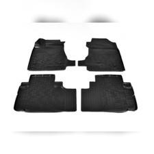 Коврики в салон (черные) 3D для Haval Н6 3D (2020)