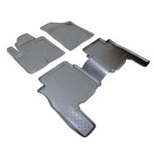 Коврики в салон (черные) 3D для Hyundai Santa Fe (CM) (2010-2012)