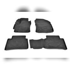 Коврики в салон (черные) для Toyota Corolla XII (Е210) (2019)