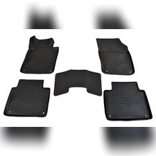 Коврики в салон (черные) для Volvo S90 3D (2016)