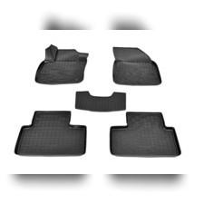 Коврики в салон (черные) для Volvo XC40 3D (2017)