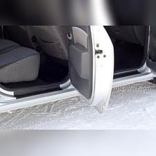 Накладки на внутренние пороги дверей (4 шт.) Lada (ВАЗ) Largus 2012-