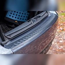 Накладка на задний бампер Mitsubishi Outlander 2010-2012