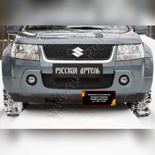 Защитная сетка решетки переднего бампера Suzuki Grand Vitara 2005-2008