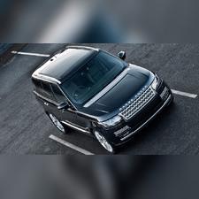 Рейлинги серебро Land Rover Range Rover Sport 2013 - 2019