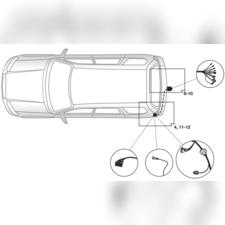 Штатная электрика для Subaru Forester 2013-нв