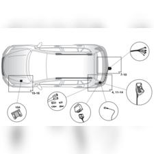 Штатная электрика для Toyota RAV 4 2013-нв