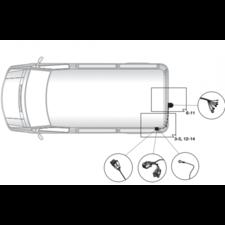 Штатная электрика для Nissan NV200 2009-нв
