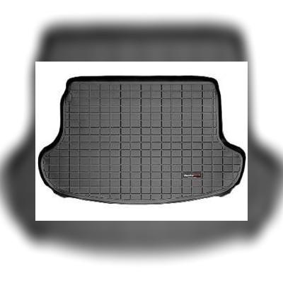 Коврик багажника черный