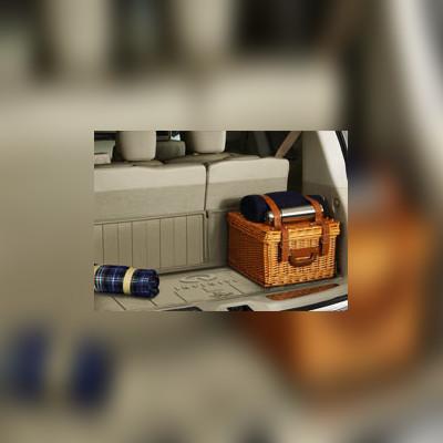 Коврик багажника резиновый цвет Wheat