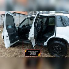 Накладки на внутренние пороги дверей Chevrolet Niva Bertone 2009-