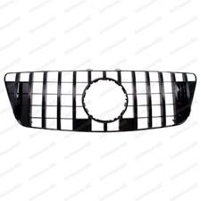 Решетка радиатора GT дизайн Mercedes-Benz M-klass (W164) черная