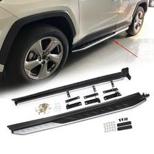 Подножки, подножки. ступени на Toyota RAV 4 2019 - нв OE Style (с надписью RAV 4)