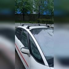 Багажник, поперечины Citroen C4 Picasso 2006-2013 аэродинамические с замком TurtleV3(штатные)