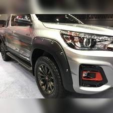Расширители Toyota Hi-Lux 2019-н.в (Комплект состоит из 7 частей) TRD