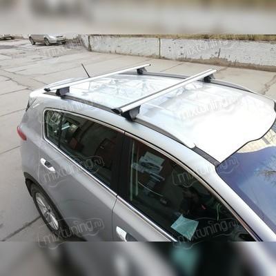 """Багажник на интегрированные рейлинги """"Integra Крыло"""" Mini Clubman 2016-нв Хэтчбек"""