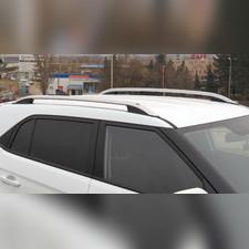 Рейлинги продольные Hyundai Creta 2016 - нв (серебристые)