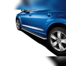 Пороги, подножки. ступени Audi Q7 2015-нв (OEM) NEW