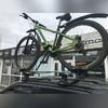 Велобагажник аэродинамический (алюминиевый)
