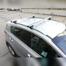 """Багажник на интегрированные рейлинги, Kia Sportage 2010 - 2015, модель """"Integra Крыло"""""""