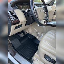 "Ковры салона передние Range Rover 2013 - нв ""3D Lux"" (2 передних), аналог ковров WeatherTech (США)"