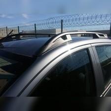 "Рейлинги на Mitsubishi L200 2007-2015, модель ""Falcon Black"" без задней поперечины"