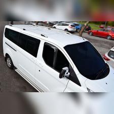 Рейлинги Ford Transit/Custom длинная база, модель Crown Black (установка в штатные места)