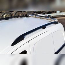Рейлинги Ford Transit/Custom длинная база, модель Crown Silver (установка в штатные места)