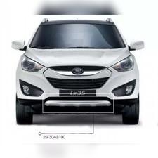 "Накладка на передний бампер Hyundai ix35 2010 - 2015 ""Original"""