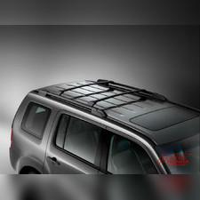 Багажник, поперечины на штатные рейлинги Honda Pilot 2008 - 2015 (OEM) Черные