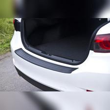 Накладка на задний бампер Mazda 6 GJ рестайлинг 2015-2018