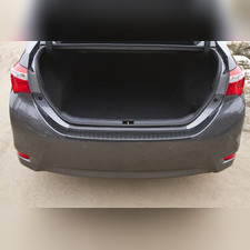 Накладка на задний бампер Toyota Corolla (седан) 2015-2018 (рестайлинг)