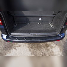 Накладка на задний бампер Volkswagen Multivan (T5 рестайлинг) 2009-2015