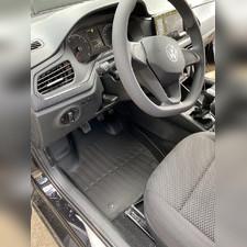 """Ковры салона Volkswagen Polo 2020 - нв """"3D Premium"""""""