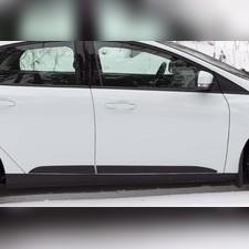 Молдинги на двери Ford Focus III 2014- (рестайлинг)