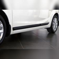 Молдинги на двери узкие Kia Cerato (седан) 2017-2018