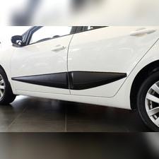 Молдинги на двери широкие Kia Cerato (седан) 2017-2018