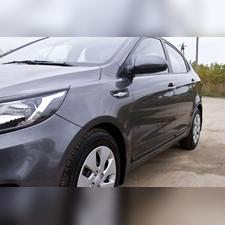 Молдинги на двери (вариант 1) Kia Rio III (седан) 2015-2016