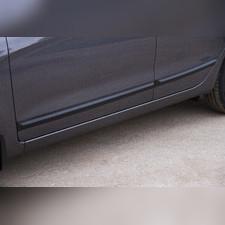 Молдинги на двери (вариант 2) Kia Rio III (седан) 2015-2016