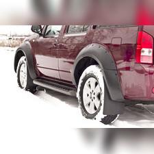 Брызговики для Nissan Pathfinder 2004-2013 (R51) комплект 4 шт.