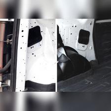 Обшивка внутренних колесных арок грузового отсека со скотчем для Lada Largus (фургон) 2012—н.в.