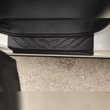 Накладки на внутренние пороги дверей Mazda CX-5 2011-2015