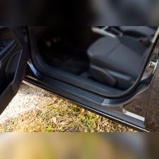 Накладки на внутренние пороги дверей Opel Astra (универсал) 2006—2012